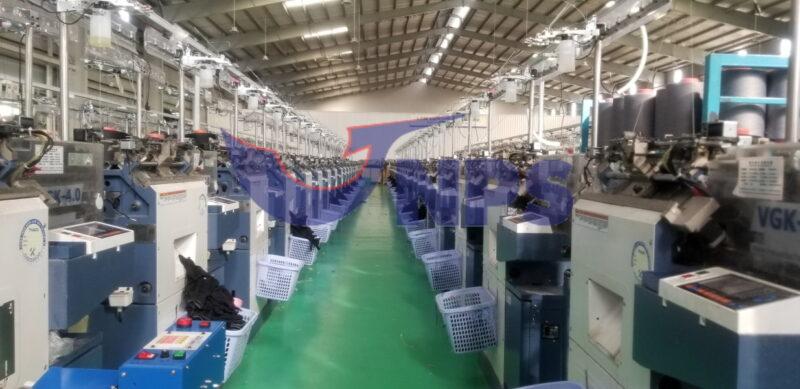 Nhà xưởng sản xuất găng mút kim 13 tại Việt Nam